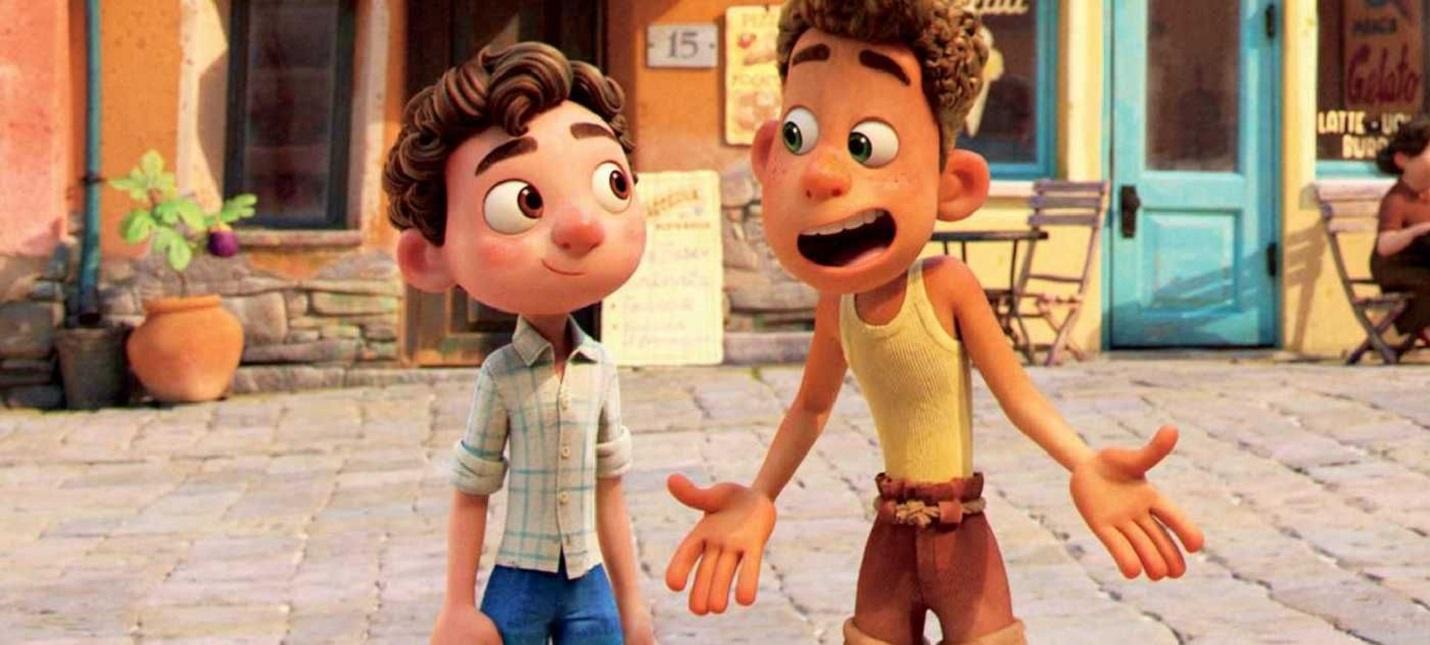 """Полноценный трейлер мультфильма """"Лука"""" от Pixar"""