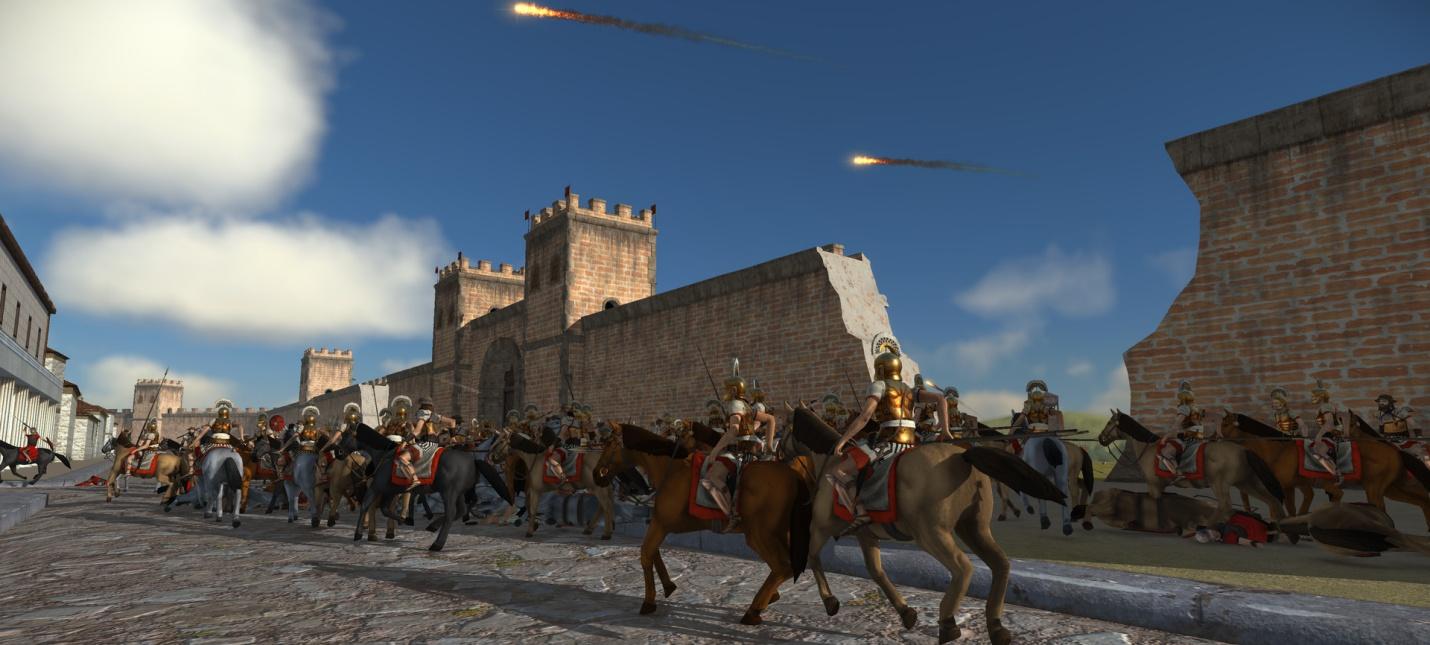 Релизный трейлер ремастера Total War: Rome
