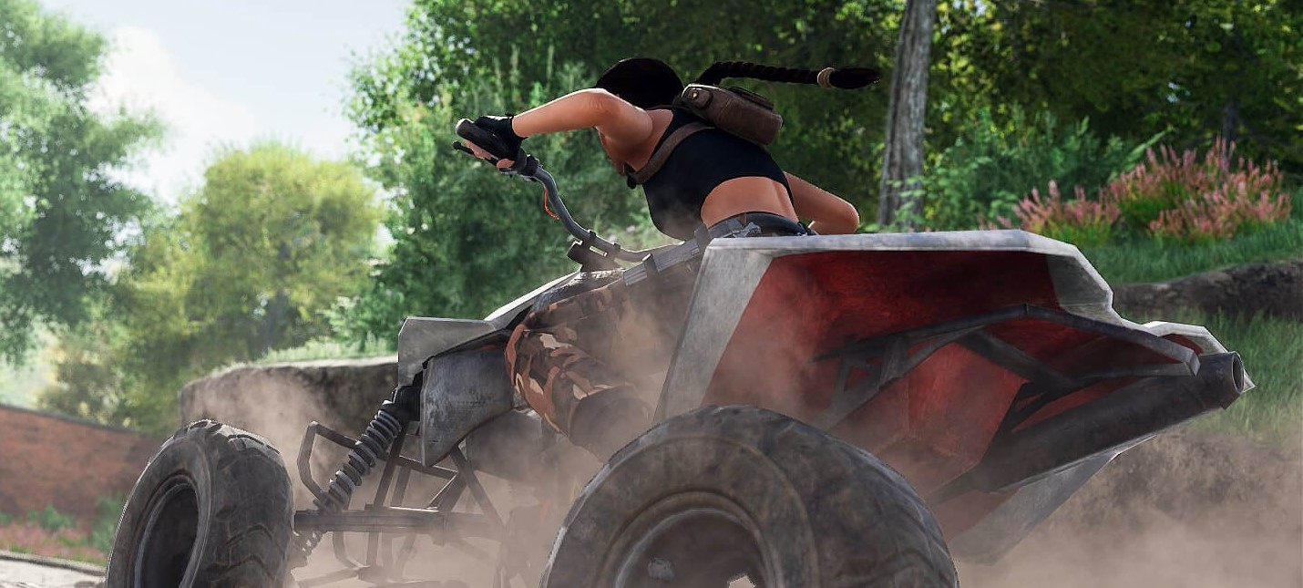 Лара Крофт гоняет на квадроцикле в геймплее фанатского ремейка Tomb Raider 2