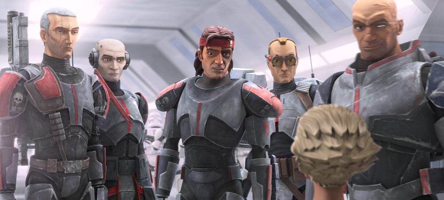 Члены отряда 99 в новом трейлере мультсериала Star Wars The Bad Batch