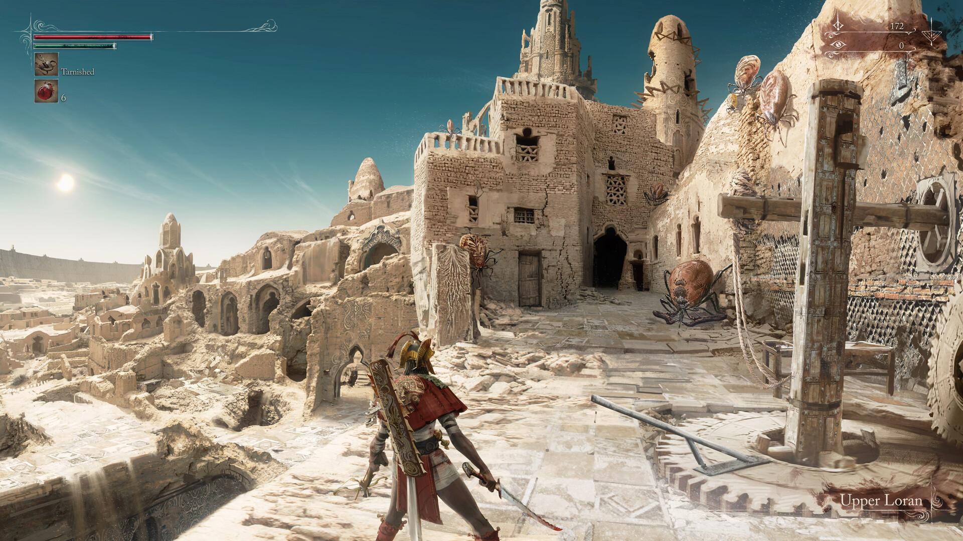 Художник представил Bloodborne 2 в солнечной пустыне
