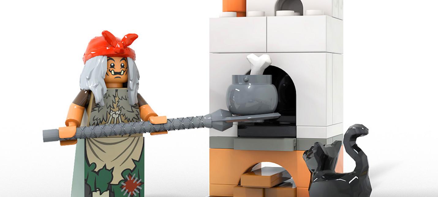 Избушка на курьих ножках прошла отбор LEGO Ideas