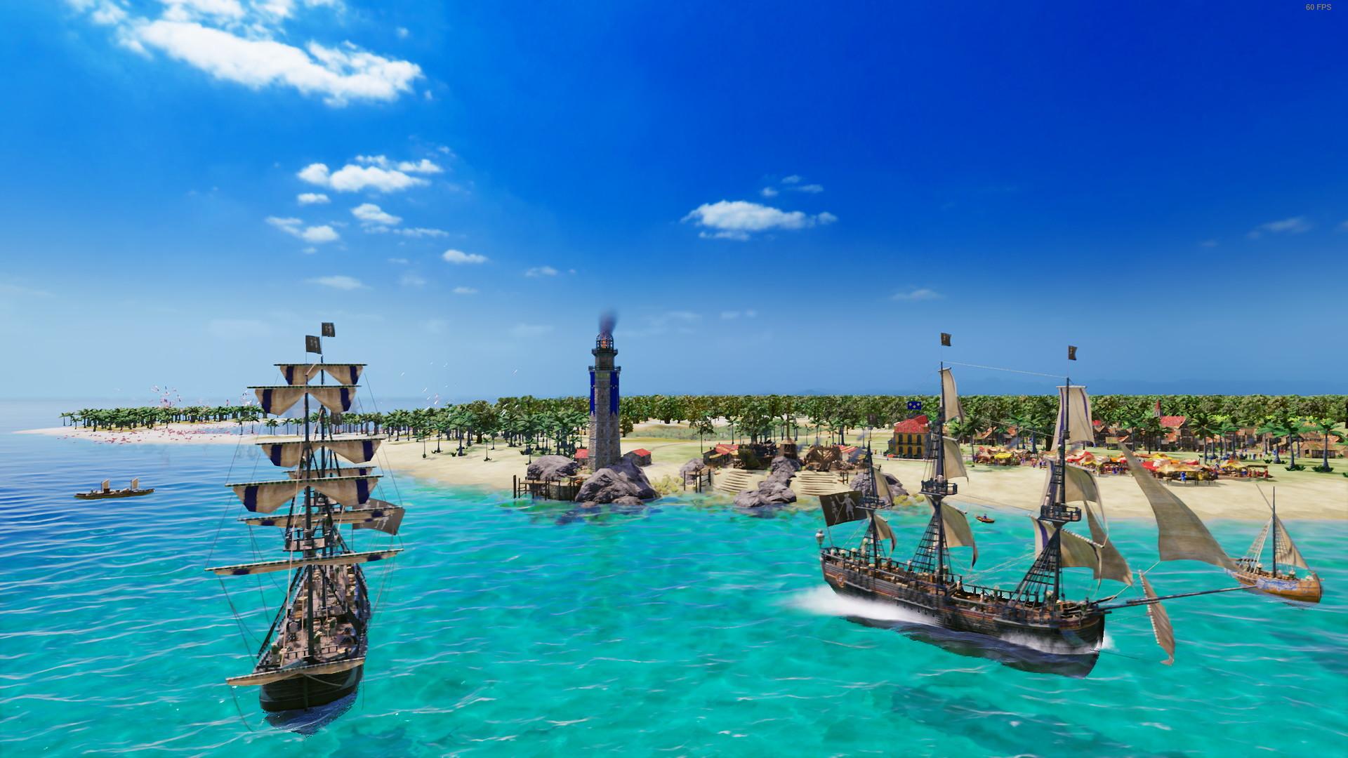 В новом аддоне Port Royale 4 можно будет создать свою пиратскую республику