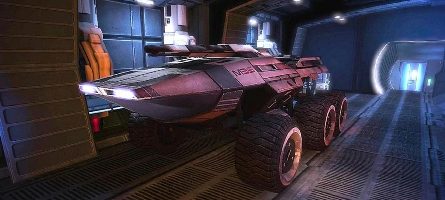 Улучшенное управление Мако можно будет отключить в Mass Effect Legendary Edition
