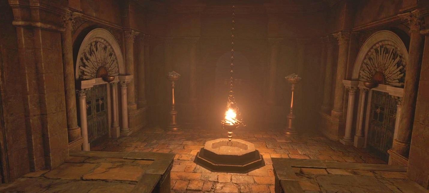 Гайд Resident Evil Village  головоломка на берегу реки у замка Димитреску