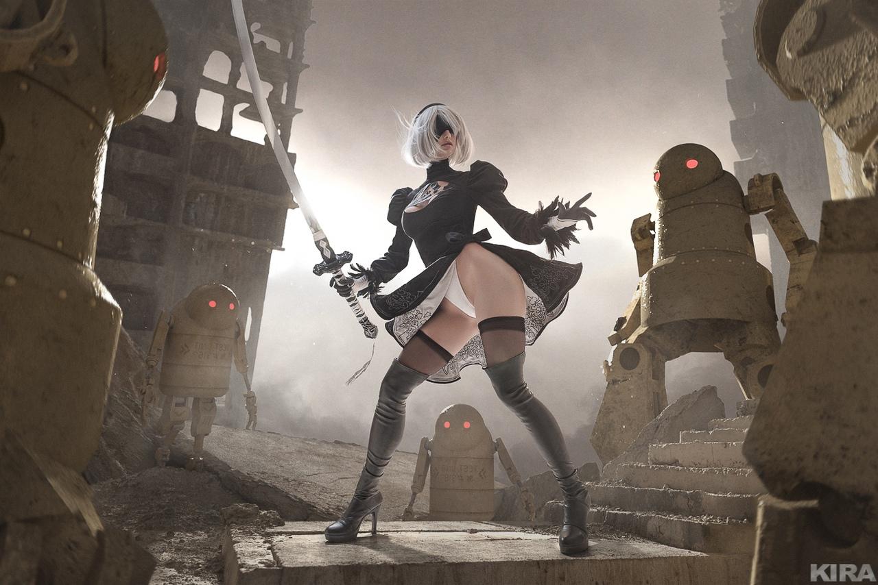 """Пятничный косплей: NieR: Automata, """"Атака титанов"""" и Resident Evil Village"""