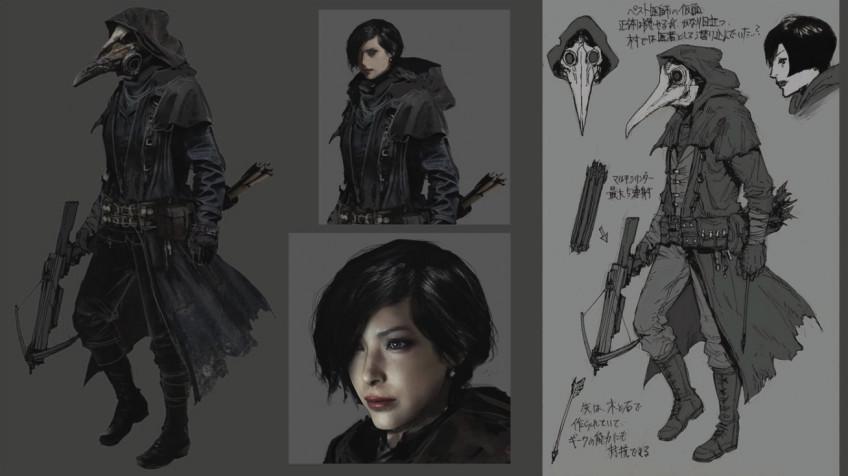 На новых концепт-артах Resident Evil Village нашли Аду Вонг