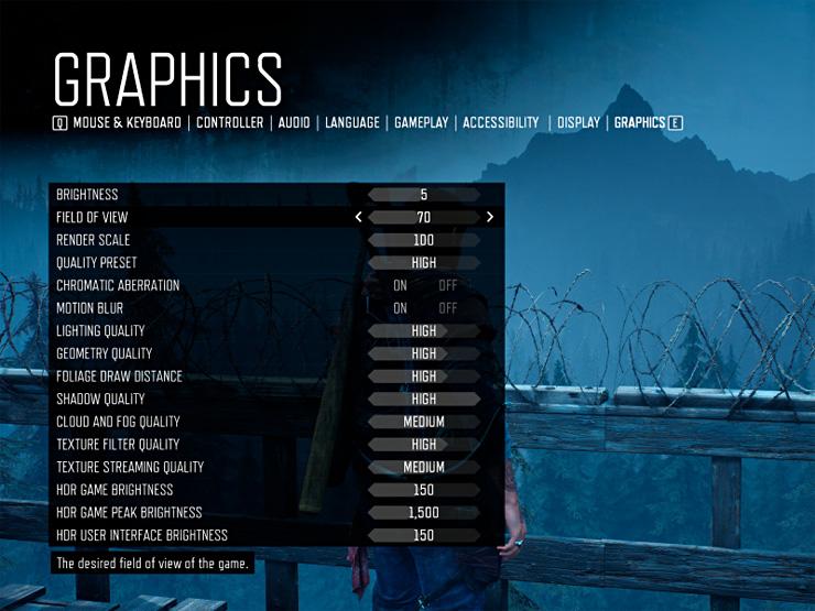 Days Gone на PC не включает трассировку лучей или DLSS