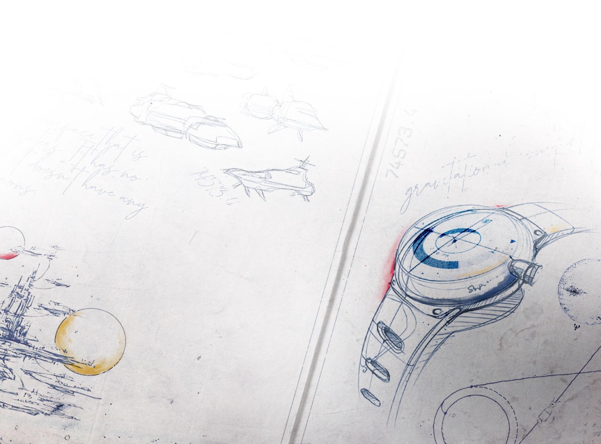 Утечка: Концепт космического корабля и часов с интерфейсом из Starfield