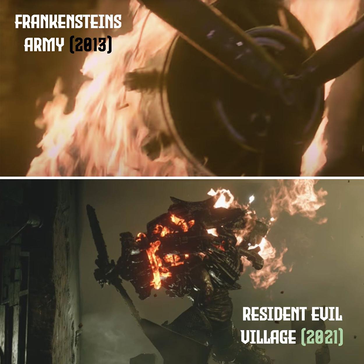 Capcom обвинили в краже дизайна монстра Resident Evil Village из фильма 2013 года