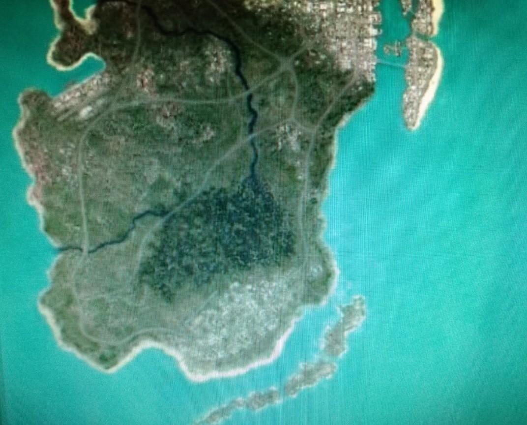 Слух: Часть карты GTA 6 с Вайс-Сити