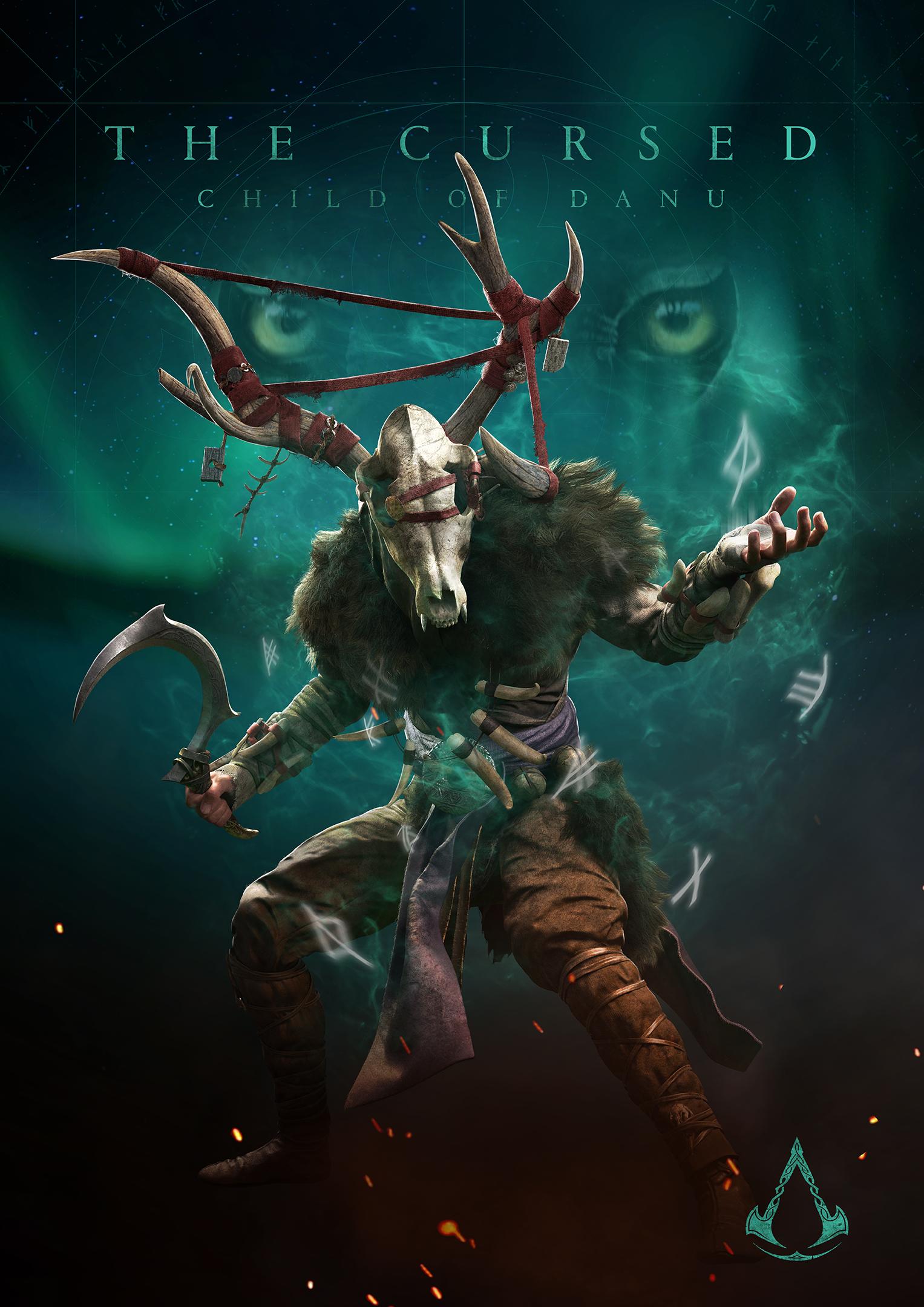 Ubisoft показала новых противников в Assassin's Creed Valhalla — Геральт одобряет