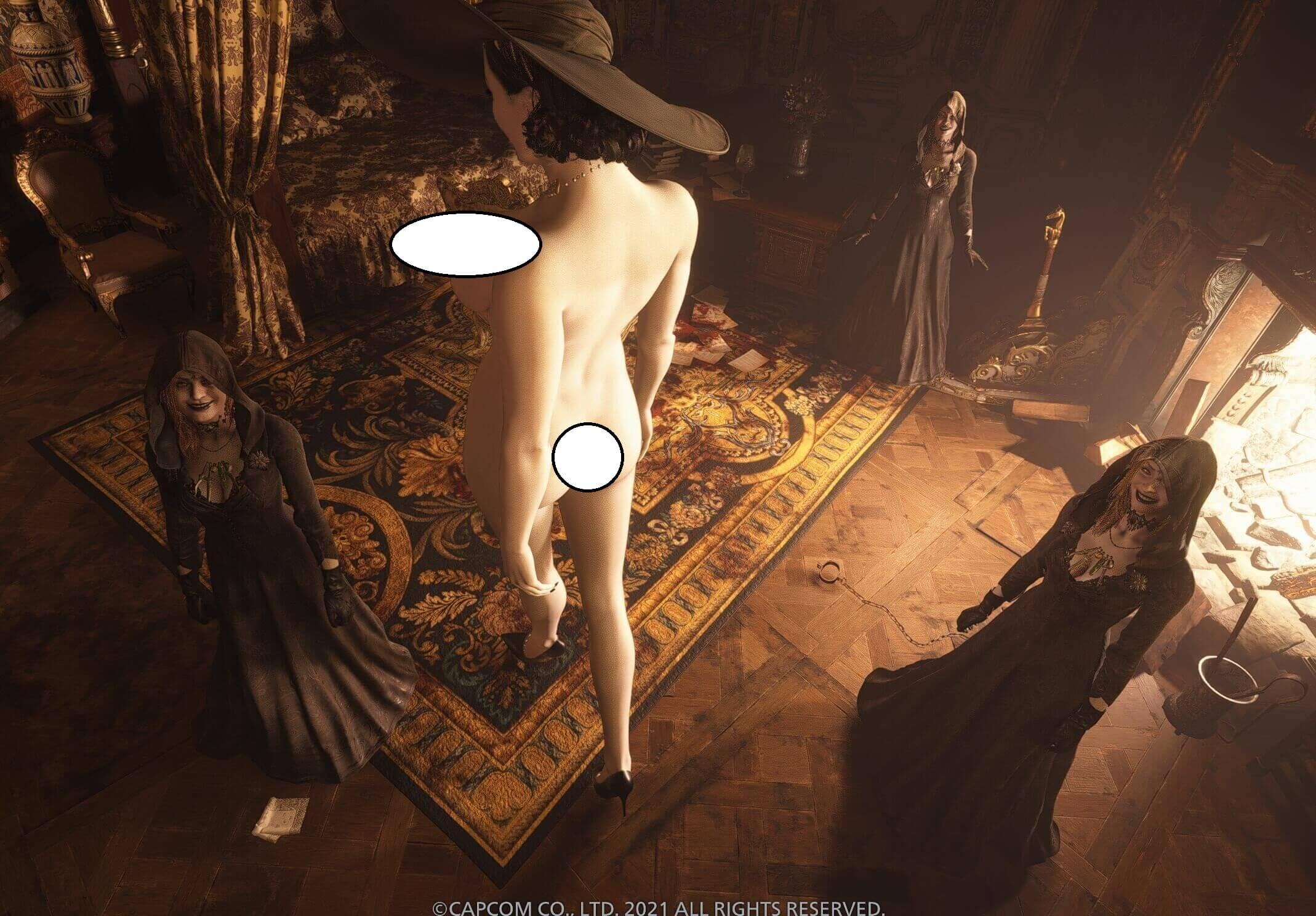 Resident Evil Village получила первый мод с голой Леди Димитреску