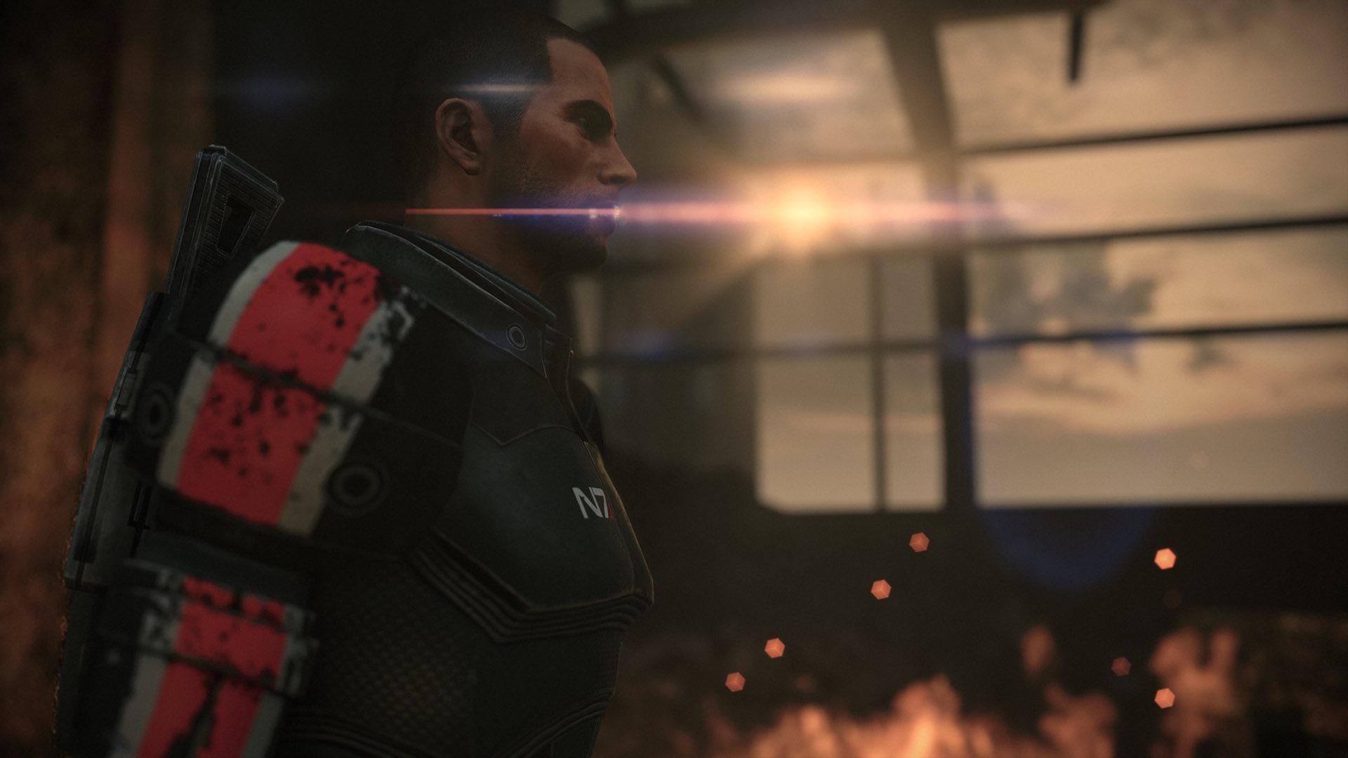 Пачка скриншотов Mass Effect Legendary Edition