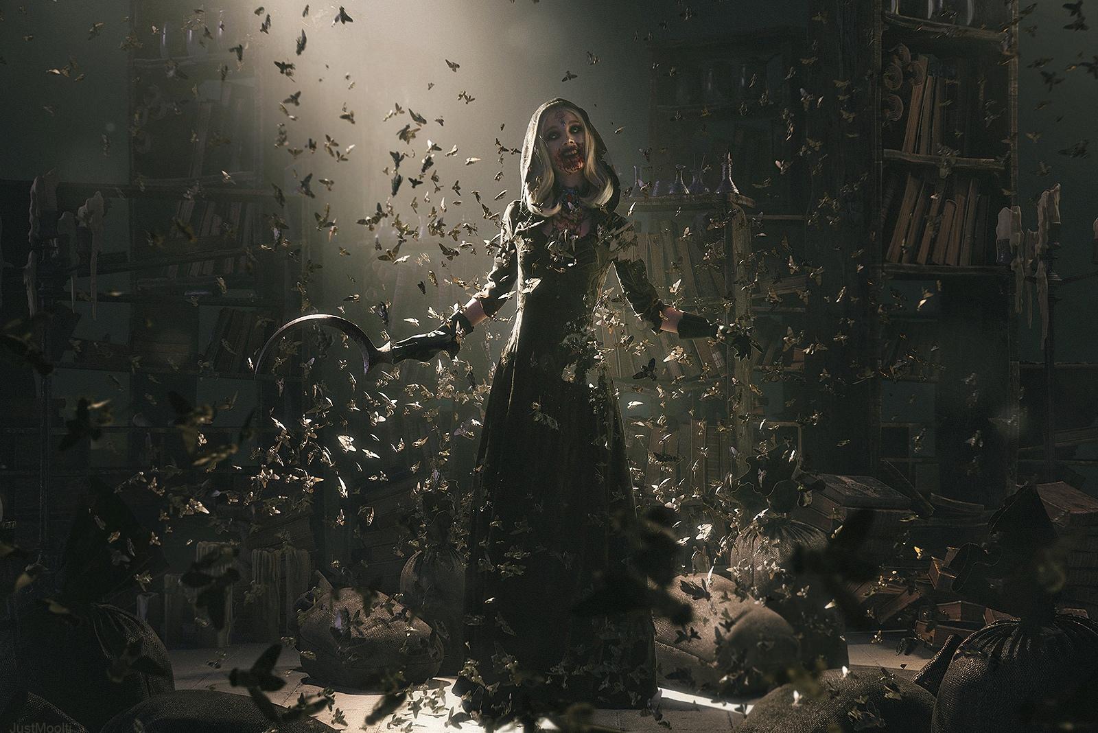 Пятничный косплей: Черная кошка, Warhammer 40000 и Resident Evil Village
