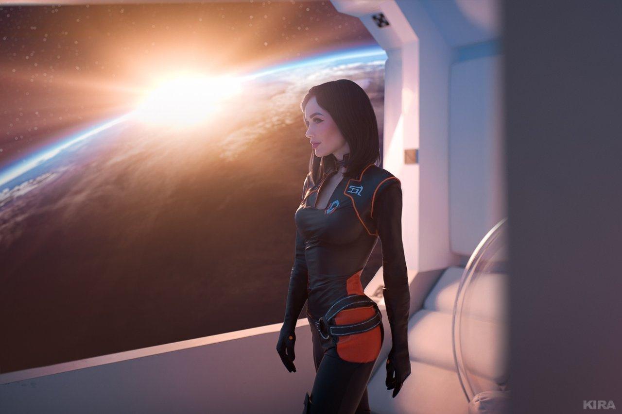Шикарный косплей Mass Effect: Миранда, Тали'Зора и СУЗИ