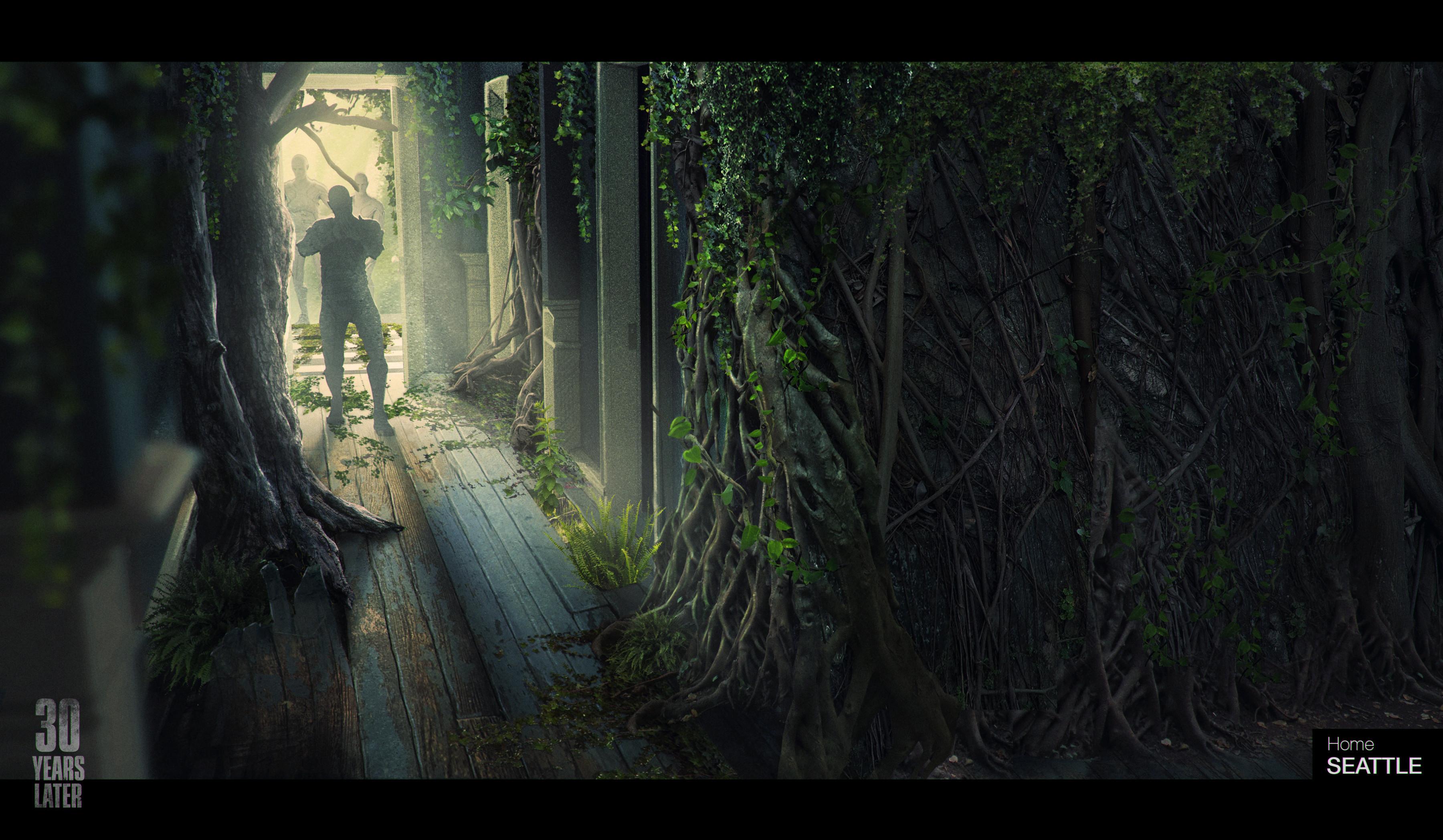 49-летняя Элли в арт-проекте по The Last of Us