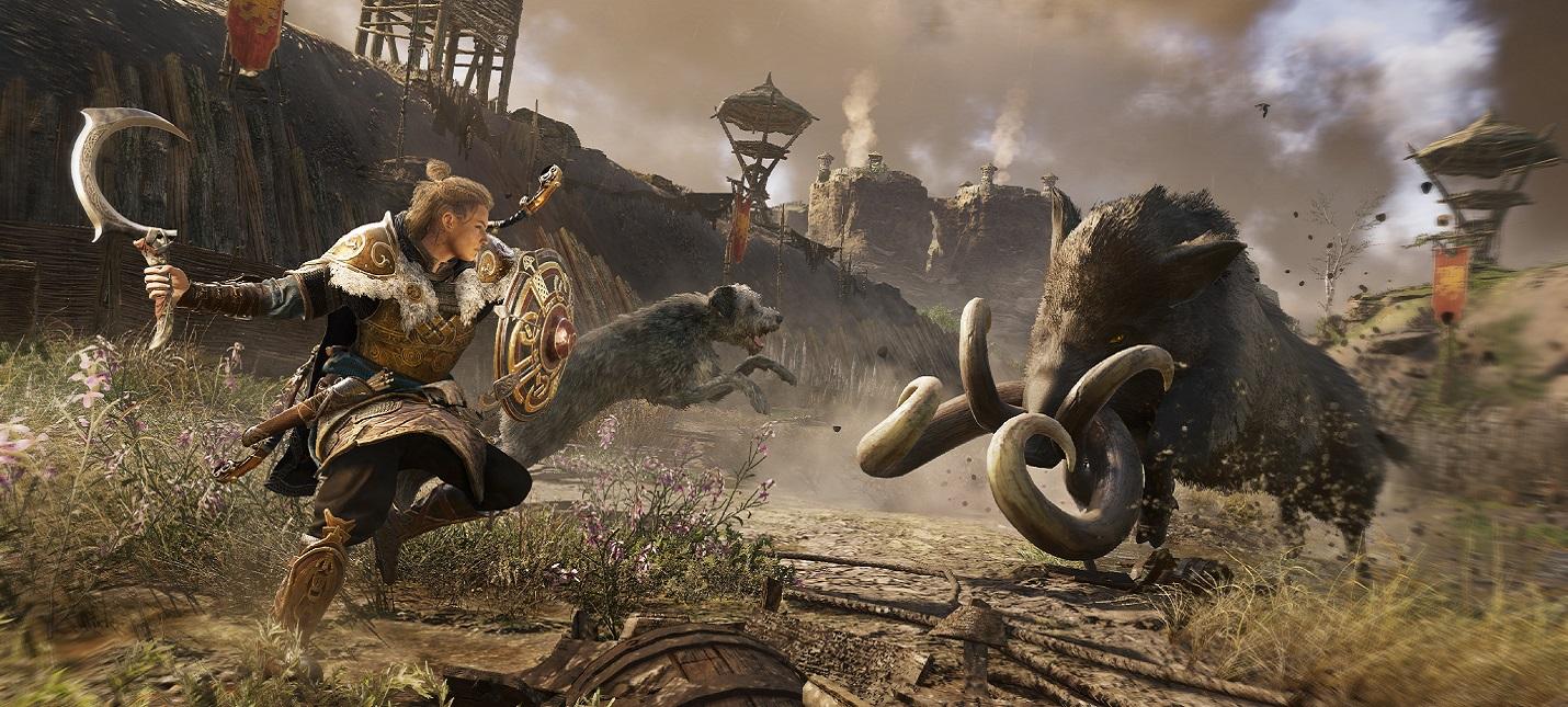 Музыка, анимации и бот вместо игрока в ролике о создании дополнения Гнев Друидов для Assassins Creed Valhalla