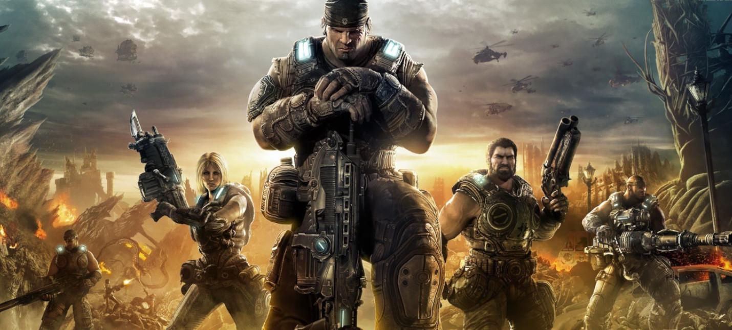 В сеть выложили билд Gears of War 3 для PlayStation 3