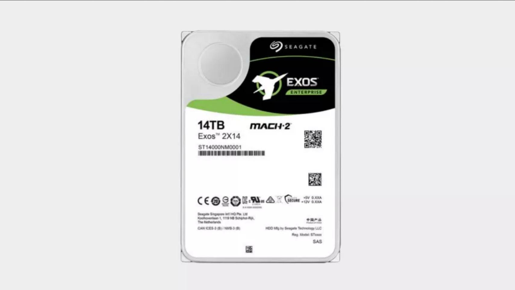 Seagate представила HDD со скоростью передачи данных близкой к SSD
