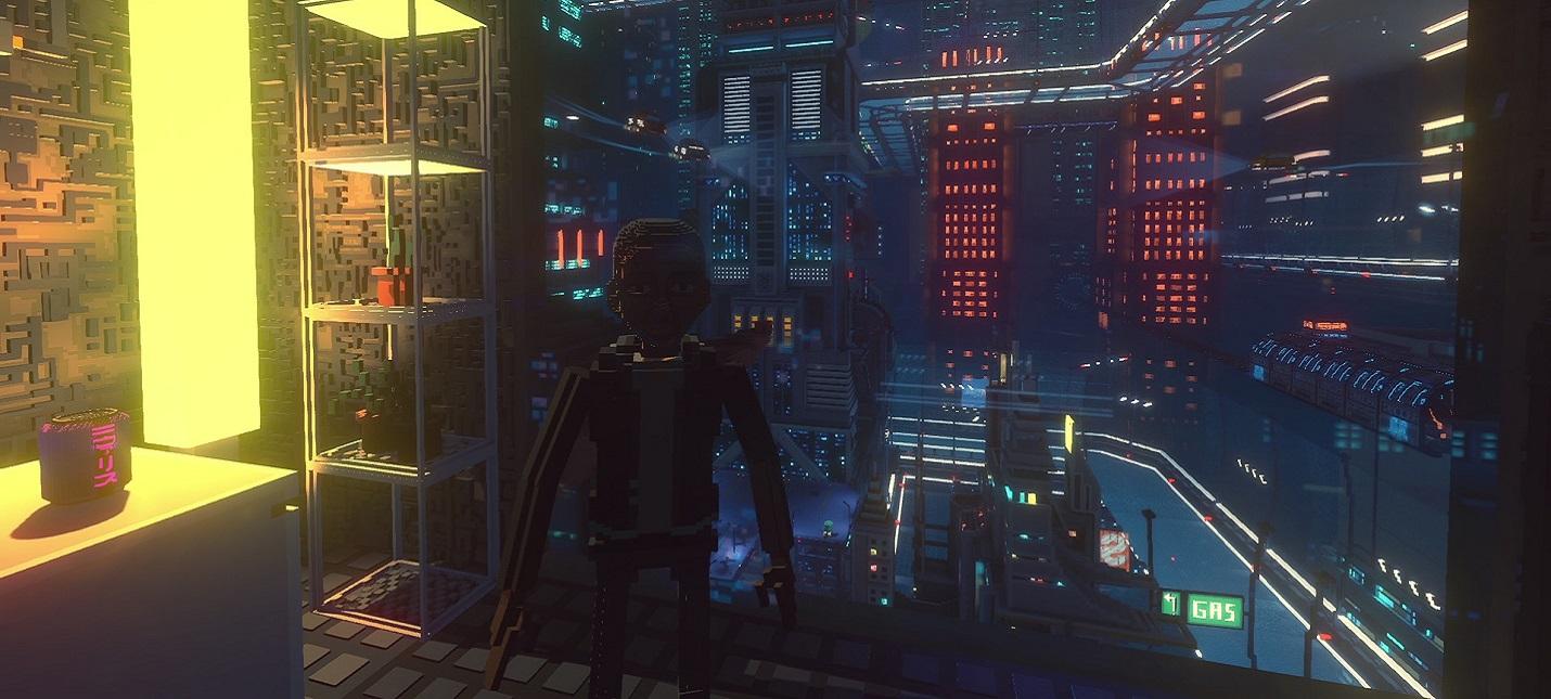 Киберпанковый симулятор курьера Cloudpunk получил масштабное дополнение City of Ghosts