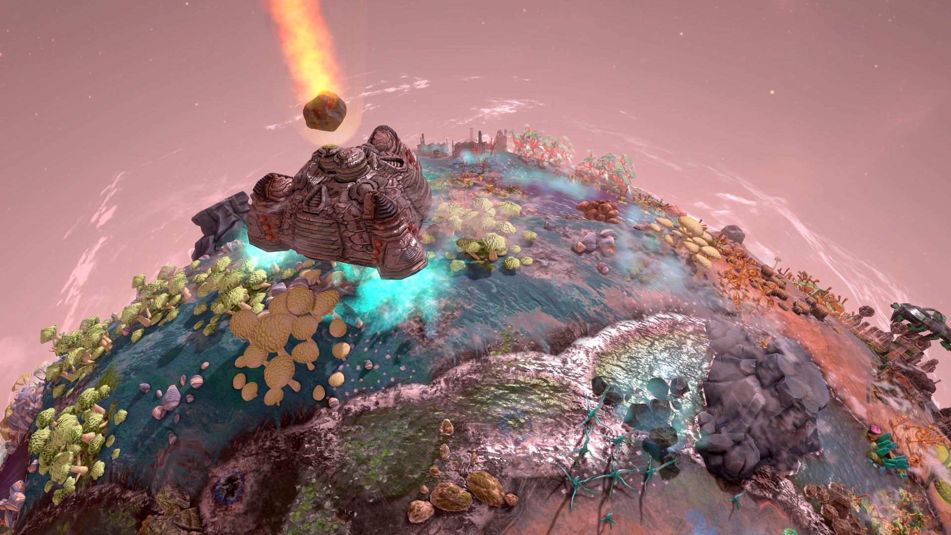 В Steam вышла стратегия Imagine Earth про колонизацию планет