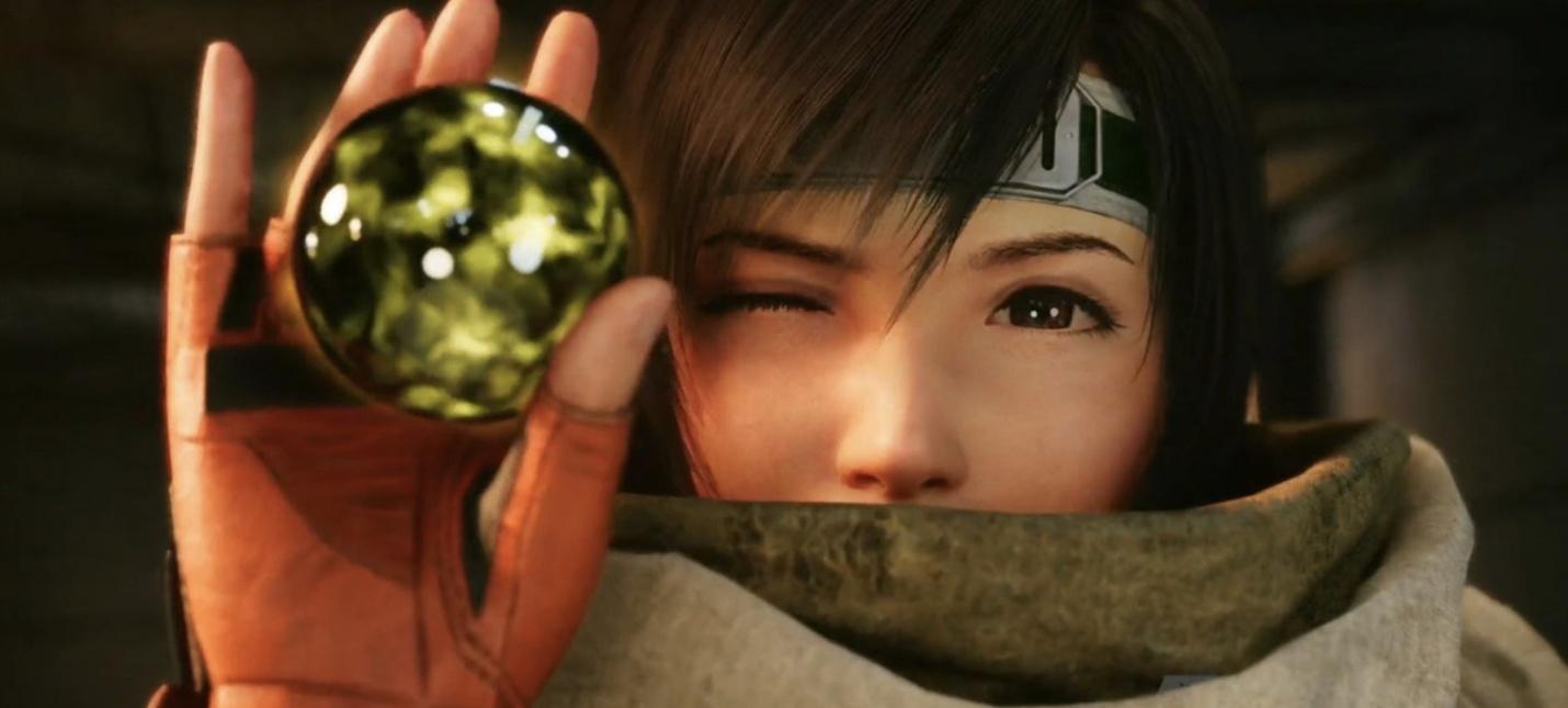 Много геймплея за Юффи из Final Fantasy VII Intergrade