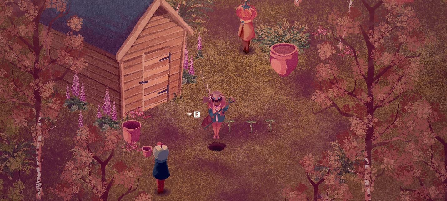 Первый трейлер симулятора жизни The Garden Path с необычным визуальным стилем