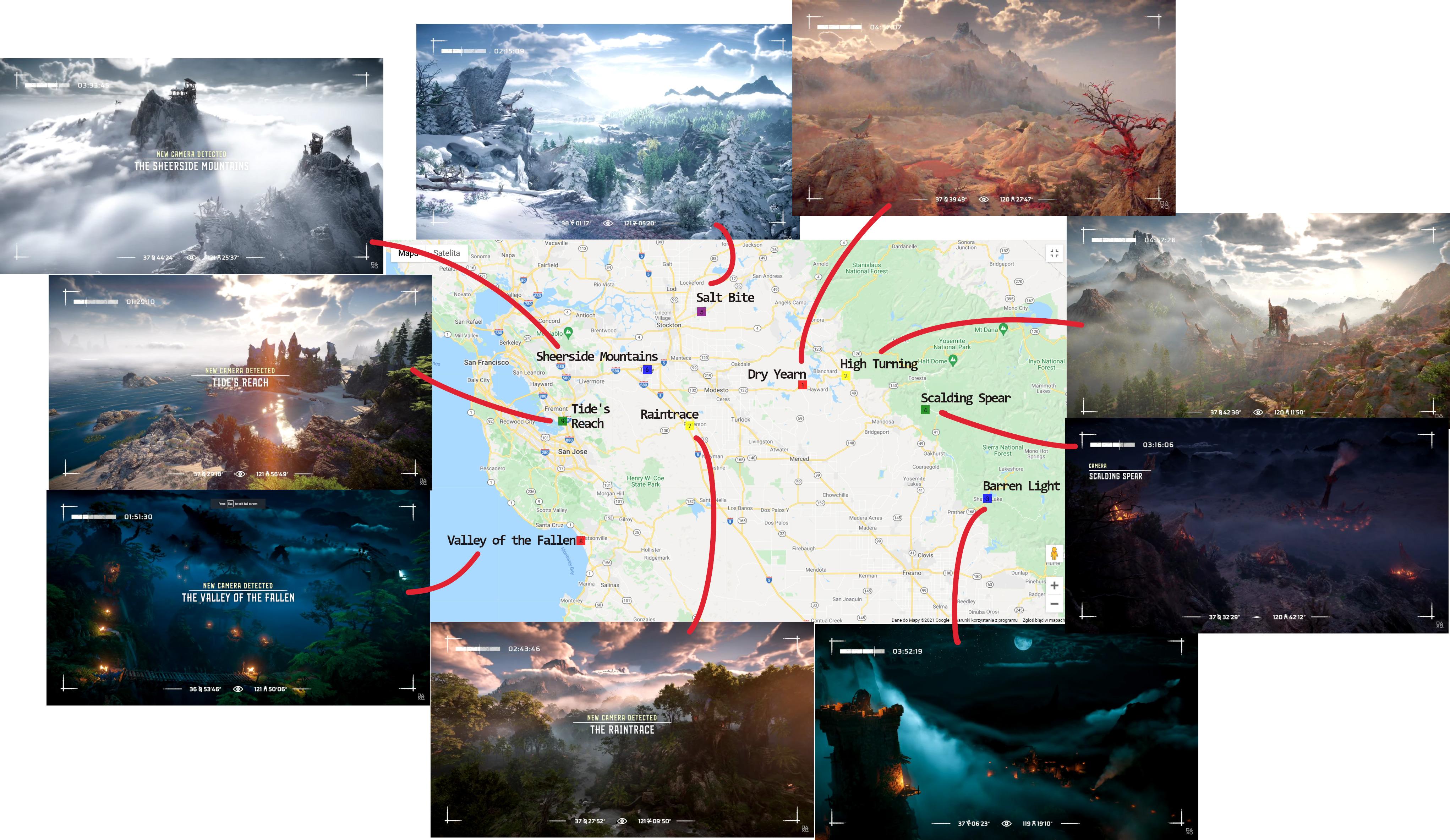 Геймеры нашли реальные локации из геймплея Horizon Forbidden West