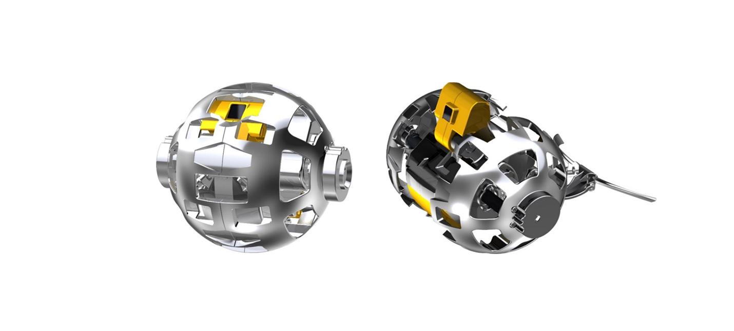 Япония отправит на Луну сферического робота-трансформера
