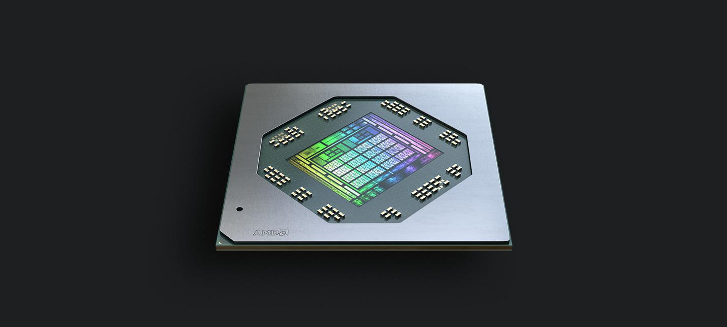 AMD представила мобильную графическую линейку Radeon RX 6000M