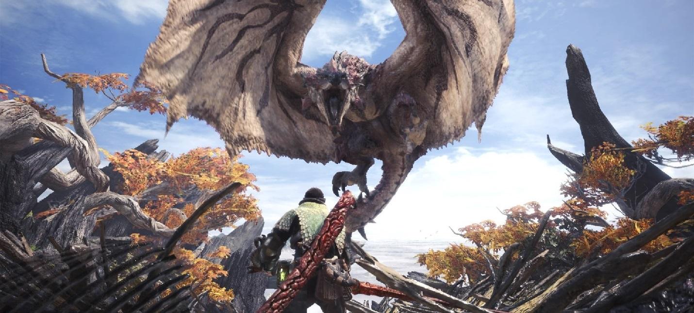 Capcom убрала Denuvo из Monster Hunter: World