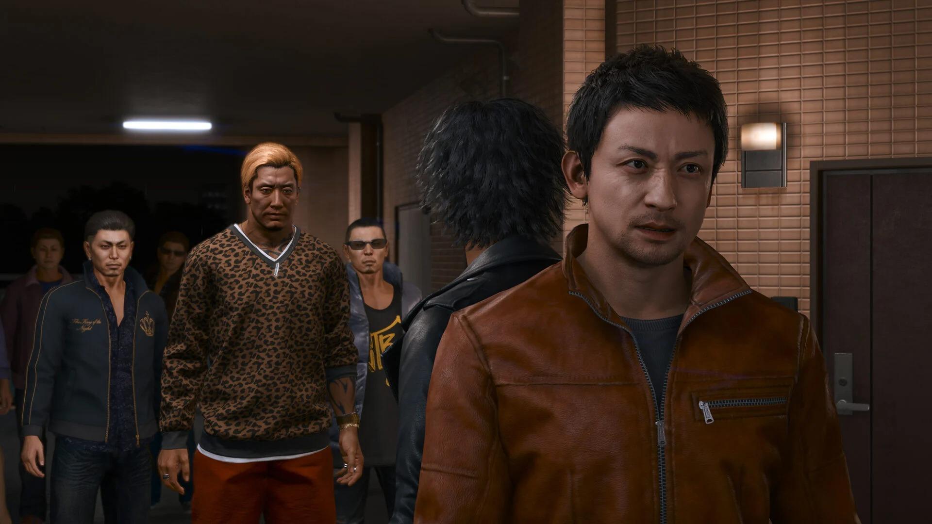 Пара видео и куча скриншотов с персонажами Lost Judgment