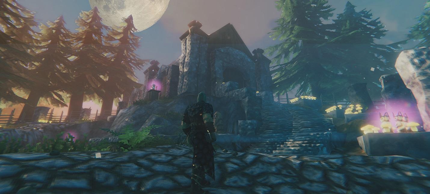 В Valheim воссоздали локацию из Bloodborne