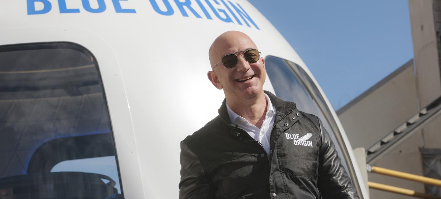 Глава Amazon Джефф Безос полетит в космос 20 июля