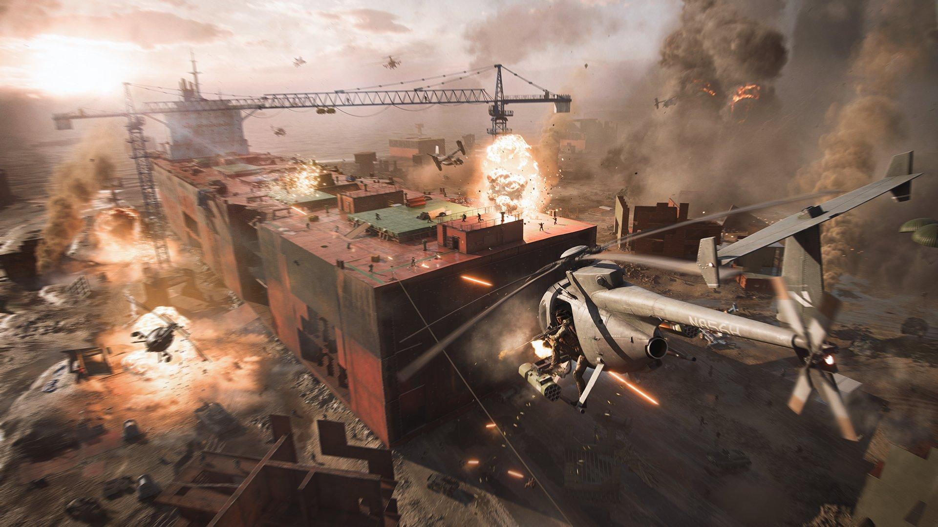 Утечка: Скриншоты и баннер Battlefield 2042