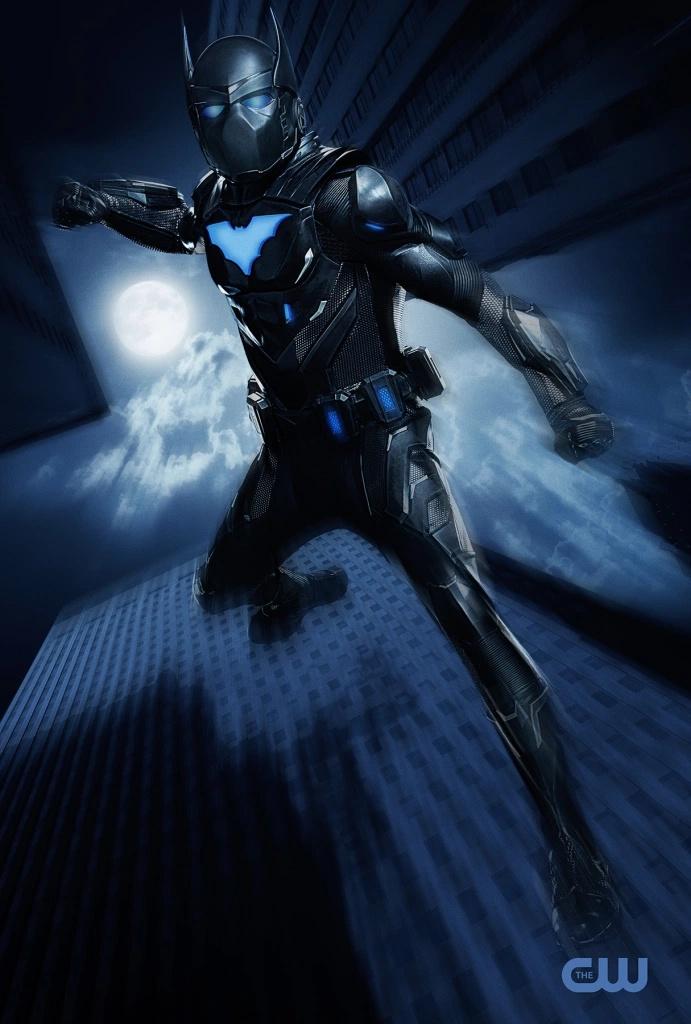 """Первый взгляд на Бэтвинга из новых эпизодов """"Бэтвумен"""""""