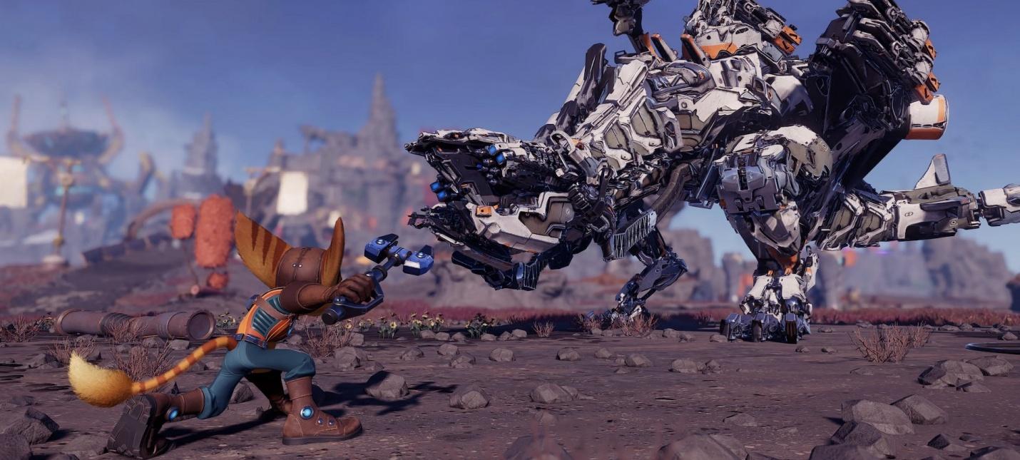 Horizon, Sly Cooper и Uncharted  какие пасхалки нашли в Ratchet amp Clank Rift Apart