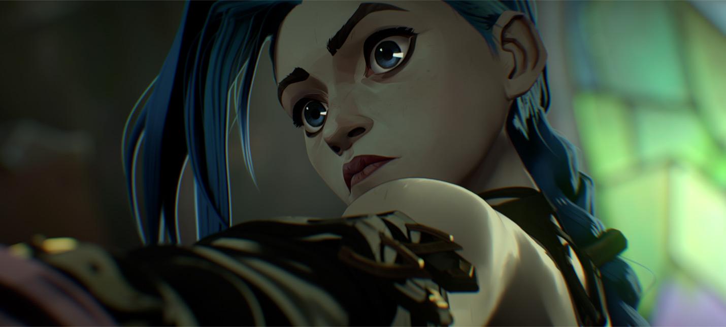 Отрывок из анимационного сериала Аркейн по League of Legends