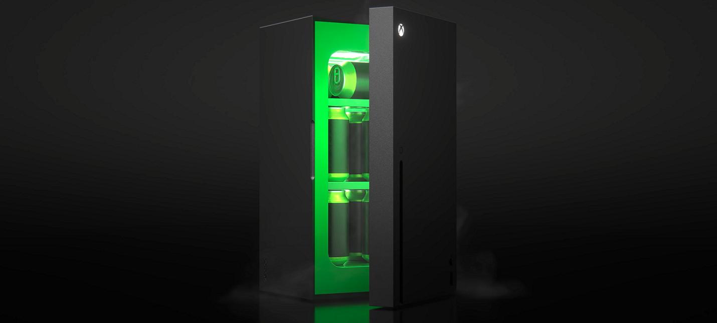 Microsoft выпустит мини-холодильник в форме Xbox Series X