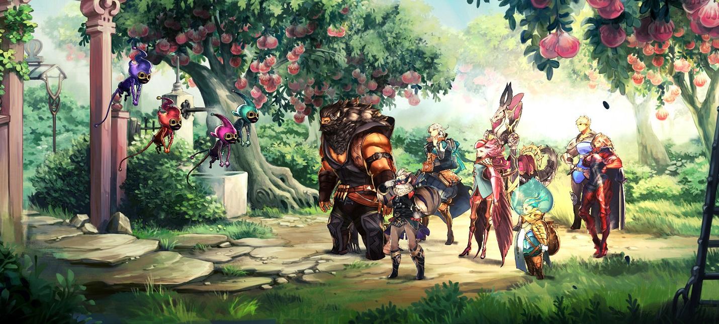 Пошаговая JRPG Astria Ascending от создателей Final Fantasy выйдет в сентябре