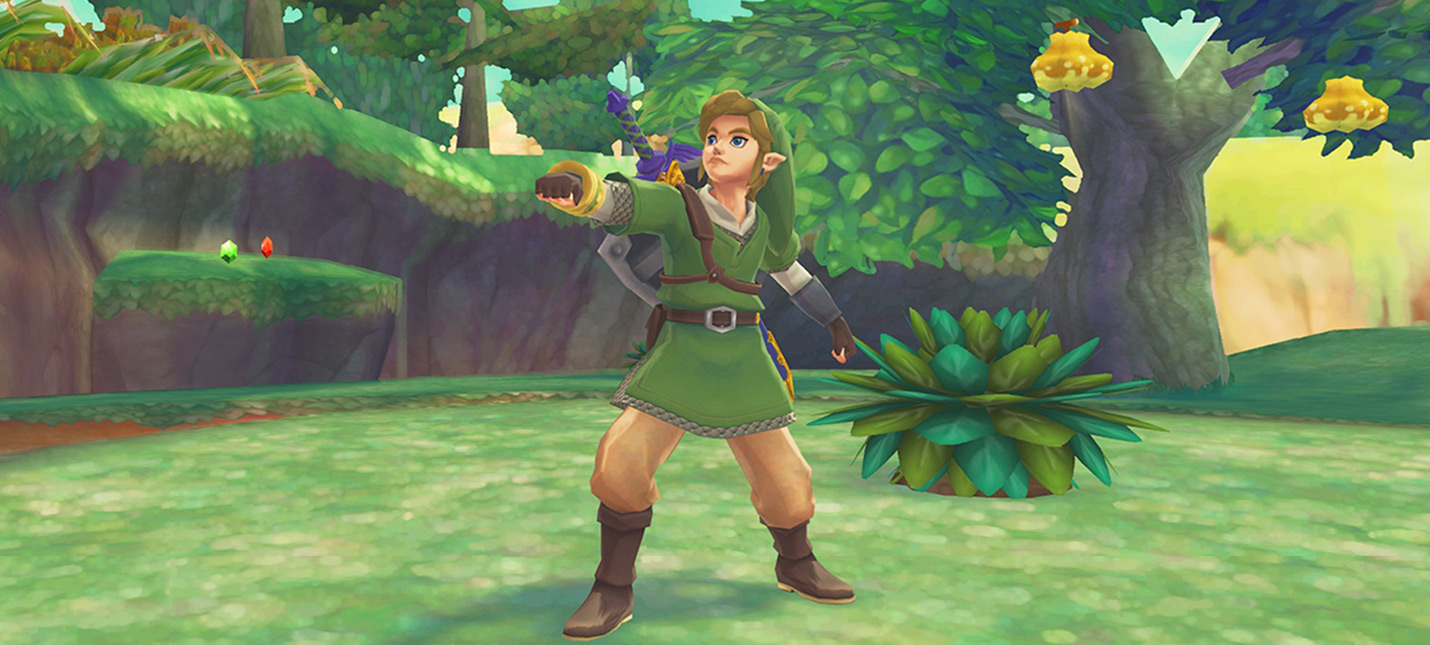 The Legend of Zelda Skyward Sword HD получит поддержку нового управления