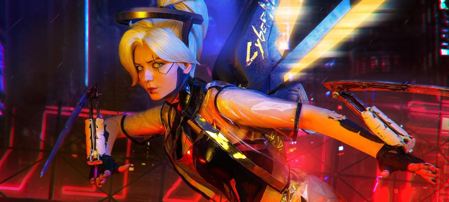 Пятничный косплей Overwatch, Dragon Age и Cyberpunk 2077