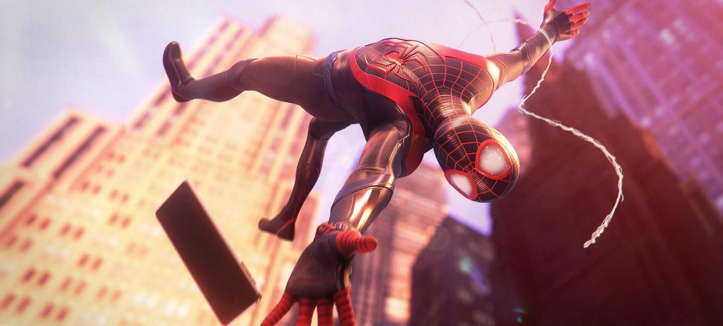 Свежий патч Spider-Man: Miles Morales улучшает трассировку лучей в режиме производительности