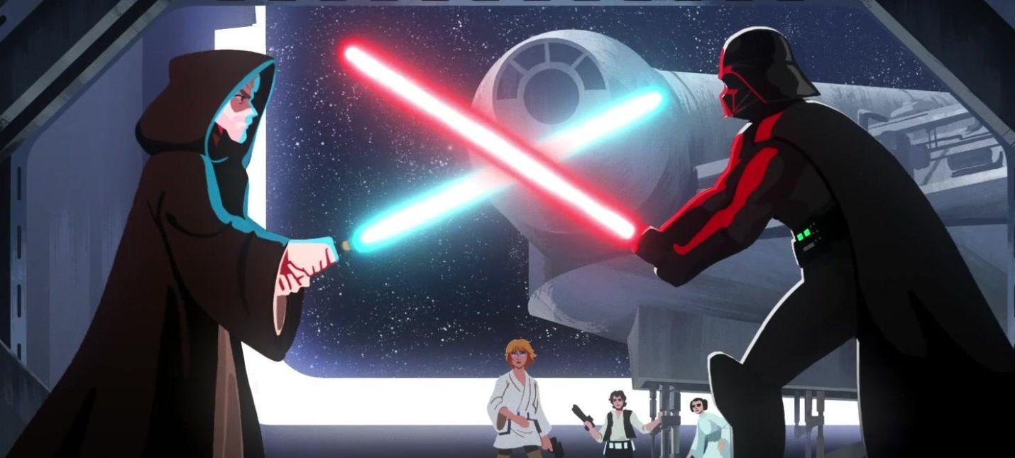Представлен трейлер Star Wars Visions  аниме-антологии по Звездным войнам