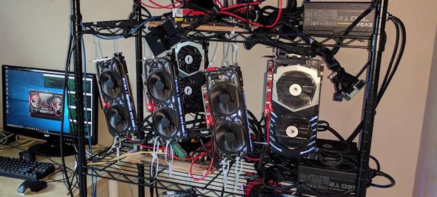 Мощность добычи ETH видеокартами упала на 19 за месяц