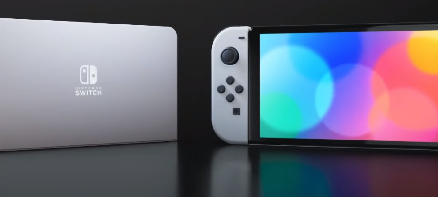 Nintendo анонсировала OLED-модель Switch  она выйдет осенью