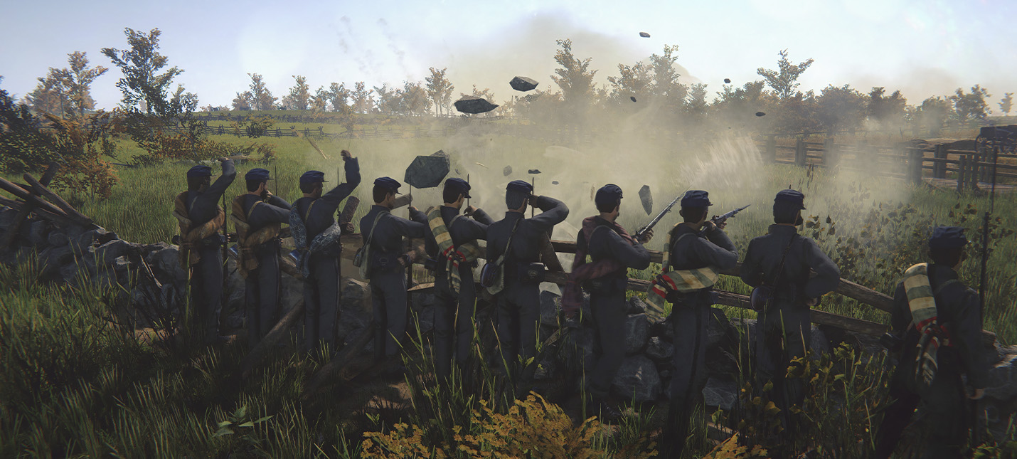 Страница Battle Cry of Freedom появилась в Steam спустя 9 лет после анонса