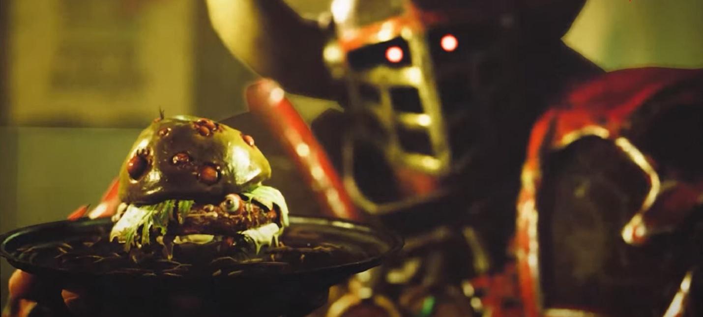 Кровавая бойня и реклама мерзких бургеров в геймплейном ролике Blood Bowl 3