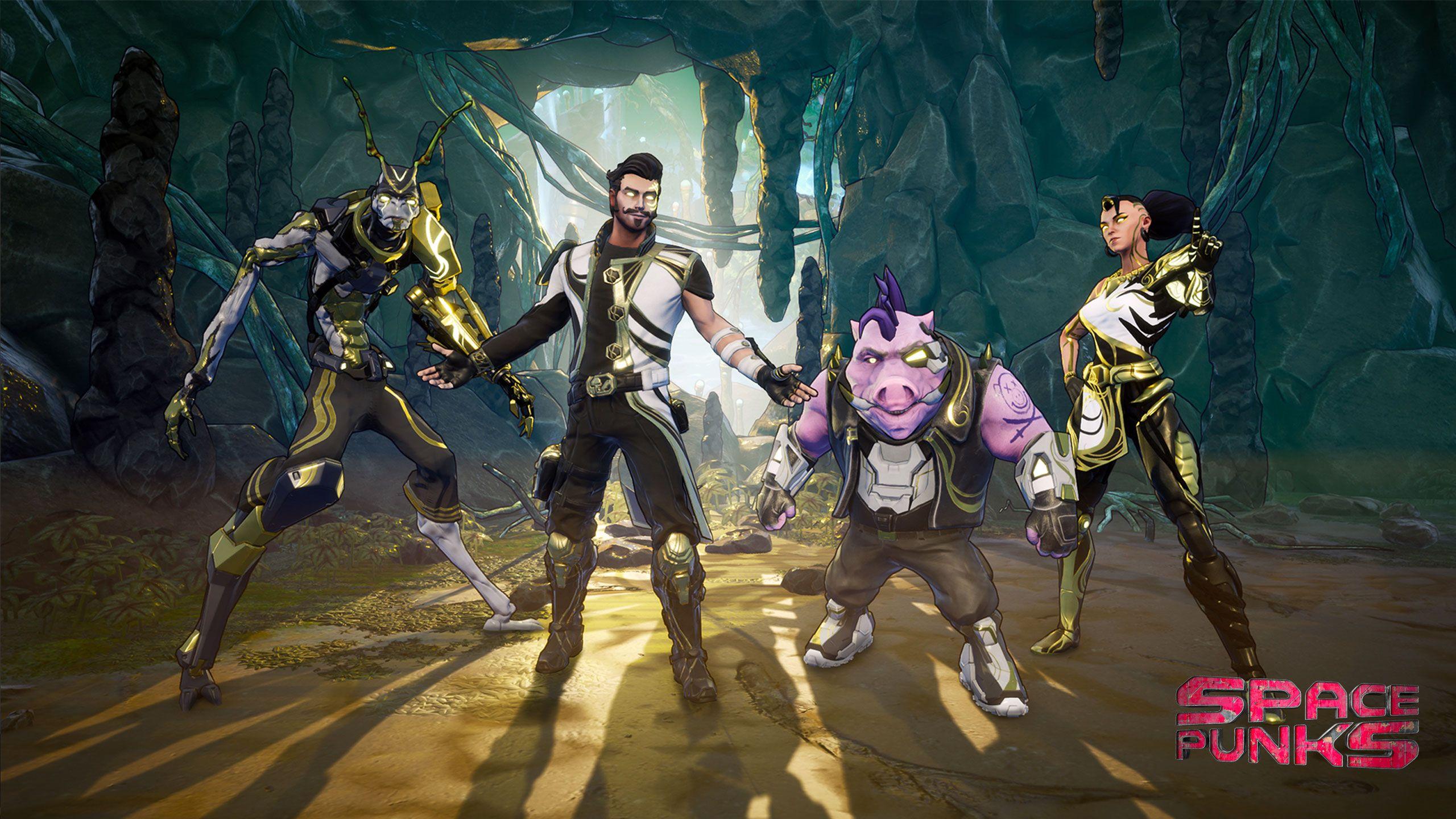 4 героя, сотни миссий и много лута — первые детали Space Punks